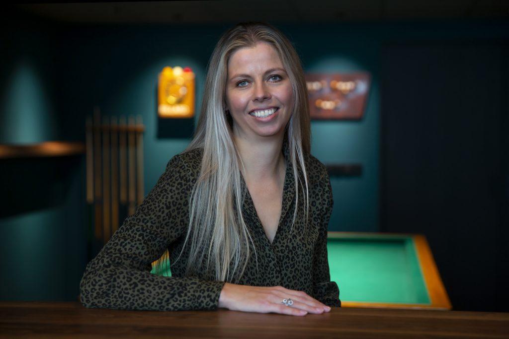 Linda, kantoorinrichter bij Hoogerwerf